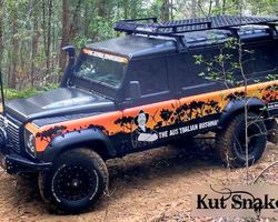 Spatbordverbrders voor Land Rover - 95mm breed
