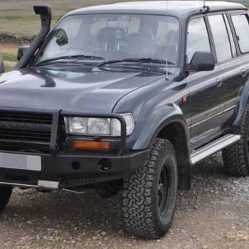 Bumpers HDJ80