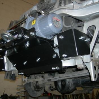 Front winch montage voor Jimny