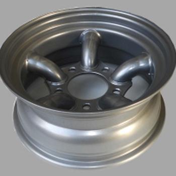 Tyrex HD stalen velg met 5 staven 7X16 offset -25 zilver