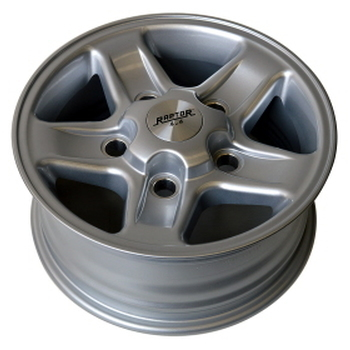 Aluminium velg raptor 4x4 OR style - zilver