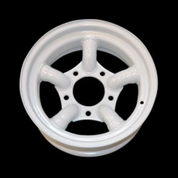Tyrex HD stalen velg met 5 staven 7X16 offset -25 wit
