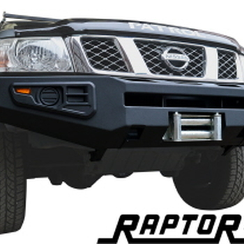 Front squared winch bumper Y61