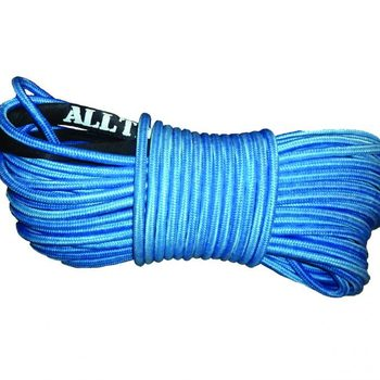 Alltracks – Synthetic rope 12mm double braided blue 30m