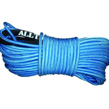 Alltracks – Synthetic rope 12mm double braided blue 40m