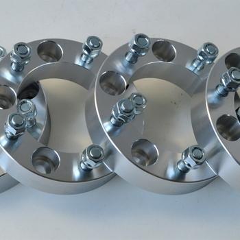 aluminium wielspacers 38mm voor samurai