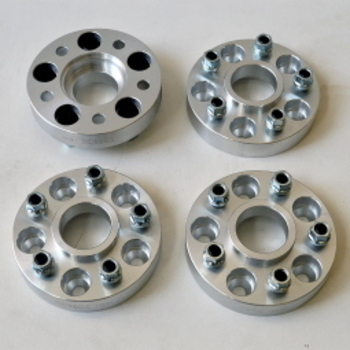 Aluminium spacers 30mm voor Discovery III