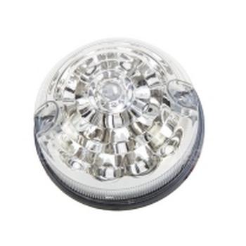 LED pinker vooraan/achteraan 73mm CLEAR