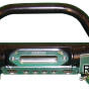 Tubular voorbumper met A-bar en winchplaat