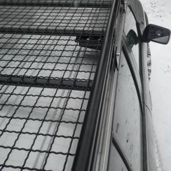 Roofrack met net voor korte Y61