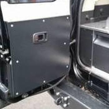 Deur bekleding kleine deur Y61