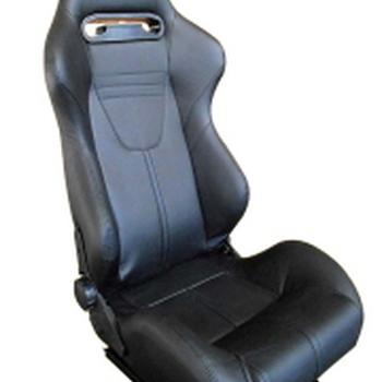 tyrex comfort kuipzetel zwart leder