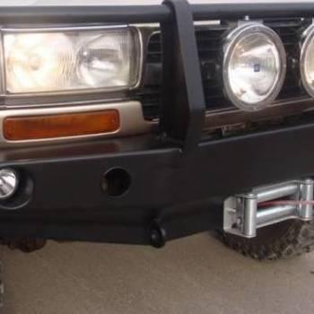 Winchbumper vooraan met bullbaar HDJ80 89-98