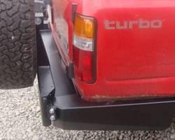 Reservewielhouder voor op achterbumper HDJ80 89-98