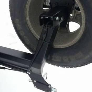 Reservewielhouder voor op achterbumper HDJ100 98-07