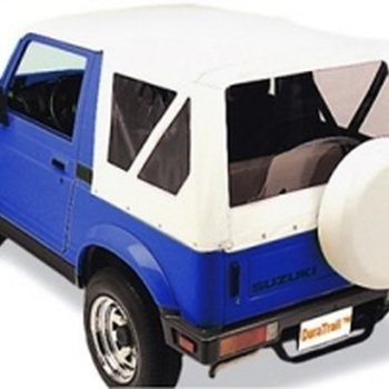 WATERPROOF SOFT TOP SUZUKI SAMURAI WHITE