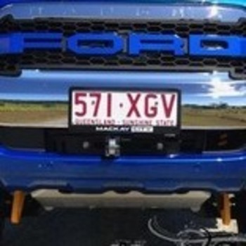 Spatbordverbreders Ford Ranger PX - 85 mm breed - Gladde afwerking
