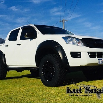 Fender Flares for Isuzu D-max - 85mm breed