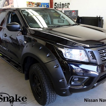Spatbordverbreders Nissan Navara D23-standard - 68-78mm breed