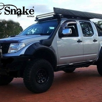 Spatbordverbreders Nissan Navara D40 - 95 mm breed