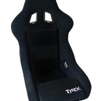tyrex vaste kuipzetel zwart stof