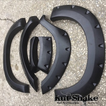 Spatbordverbreders voor Toyota Hi-Lux 2005-2012 monster (pre face-lift)- 95 mm breed