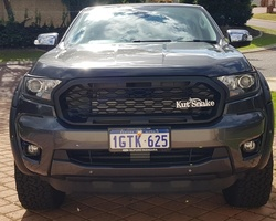 """""""Raptor"""" look-a-like grille Ford Ranger series 3"""