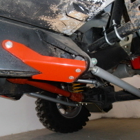 TRAILING ARMS GUARDS FOR DEFENDER 90