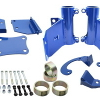 HYDRAULIC BUMPSTOPS FRONT MOUNTING KIT