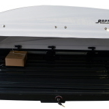 """""""SPACE SHEEL"""" ABS ROOF BOX RAPTOR 4X4 500L WHITE GLOSSY"""