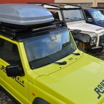 """""""SPACE SHELL TOP QUALITY"""" ROOF BOX RAPTOR 4X4 360L GREY GLOSSY"""