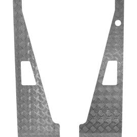 Wing top aluminum 3mm grijs