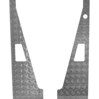 Wing top aluminium 2mm grijs