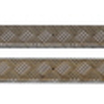 Dorpel beschermingsplaten grijs 2mm defender 90