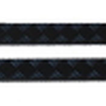 Dorpel beschermingsplaten zwart 3mm defender 90