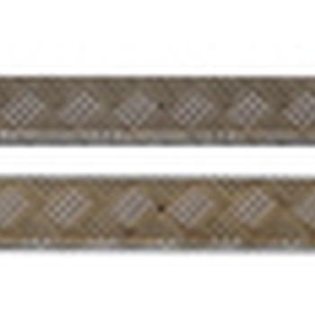 Dorpel beschermingsplaten grijs 2mm defender 110