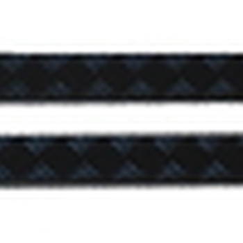 Dorpel beschermingsplaten zwart 3mm defender 110